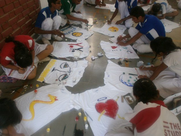 T-Shirt Painting Competition - 2013
